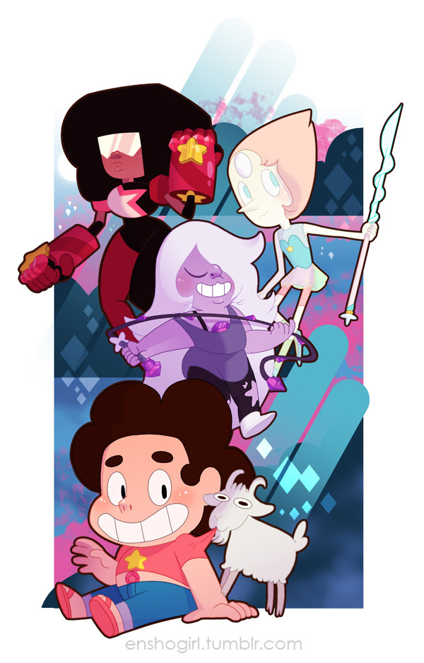 Some of the first Steven Universe fan art I did.