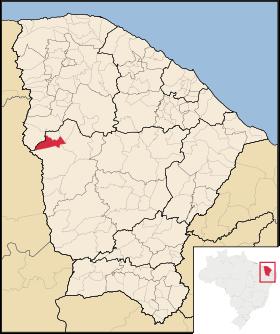 Localização de Ipaporanga