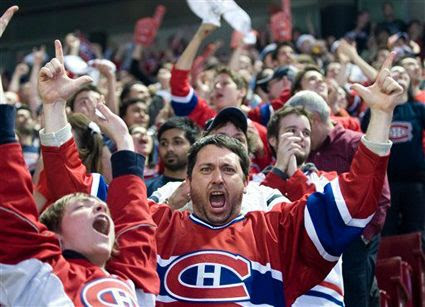 Montreal fans