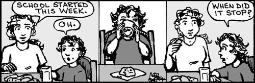 Home Spun comic strip #820
