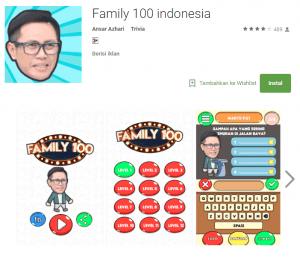 Kunci Jawaban Kuis Family 100 Level 2 Gudang Kunci