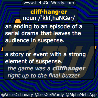 Cliffhanger 11/21/2013 GFX Definition