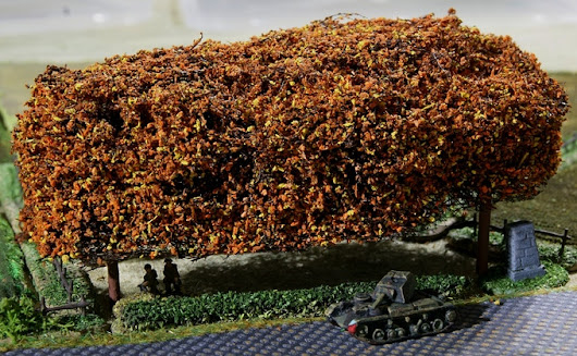 Forests for 2mm, 6mm, 10mm & 15mm Wargames