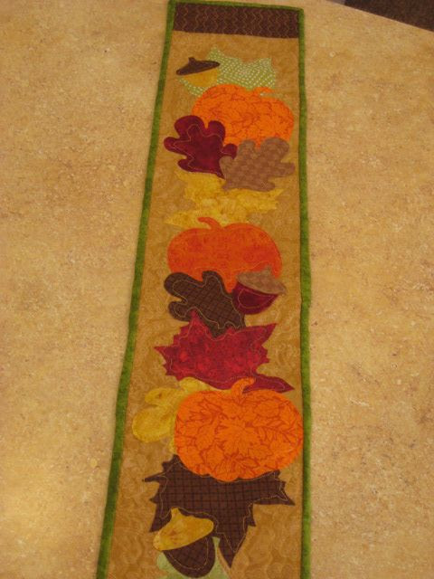 Fall Leaves, Accuquilt Go! Die Cuts!