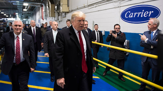 What the Layoffs Look Like at the Carrier Plant Trump Said He'd Save