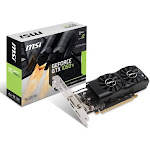 MSI Gaming GeForce GTX 1050 Ti 4GB GDRR5 GTX 1050 TI 4GT LP Graphics Card