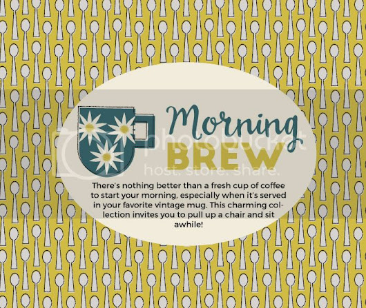 Fabric Design Part 5: Morning Brew