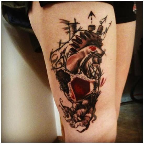 40 Sensuales Tatuajes En Las Piernas Para Mujeres