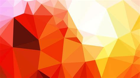 Yellow Polygon Background Template