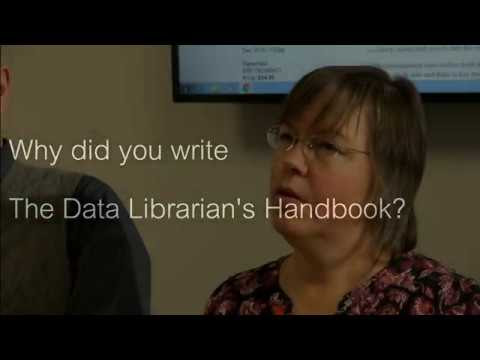 New video: Robin Rice and John Southall discuss The Data Librarian's Handbook