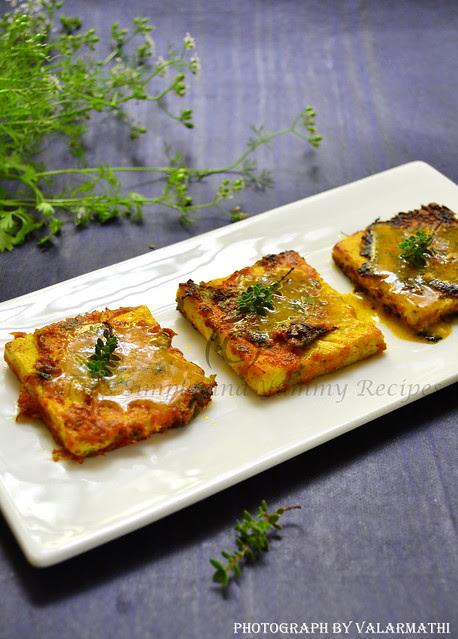 Pan Fried Tofu Bites