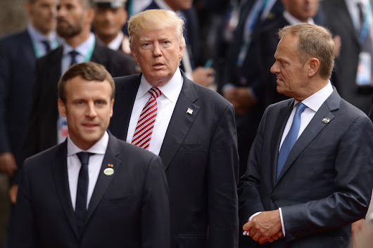 Fearless French President Lumps Trump In With Tyrants & Dictators