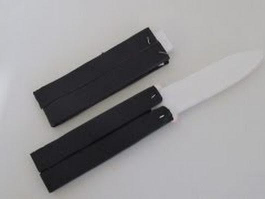 how to make a cardboard knife