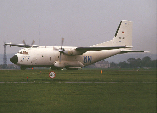 C-160D 5082 white LTG 63 St Athan 081092