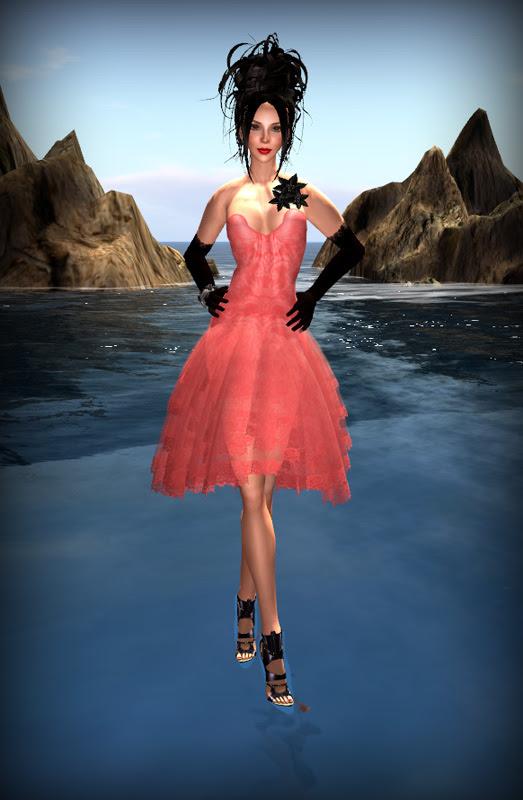 Angel Dessous Group Hunt Dress