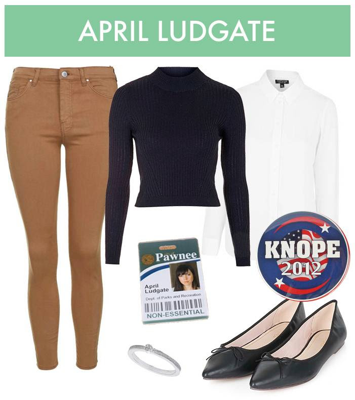April Ludgate Halloween Costume - Parks and Recreation