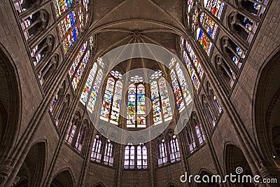 Paris - sanctuary of Saint Denis cathedral