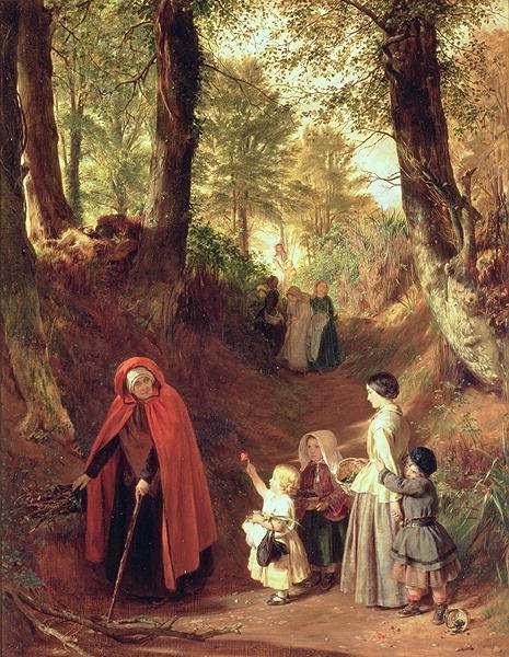 Painting by John Callcott Horsley