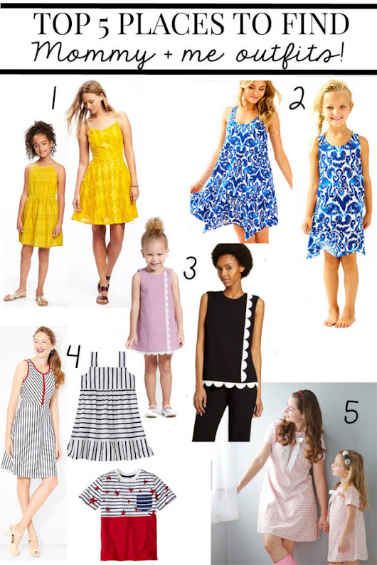5 Places to Shop for Mommy and Me Outfits - Pretty Extraordinary