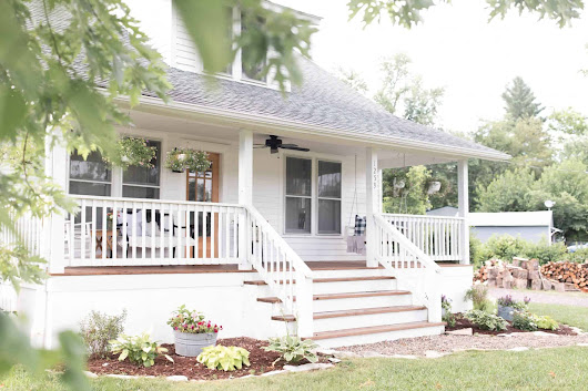 5 Steps to Farmhouse Curb Appeal - Unskinny Boppy
