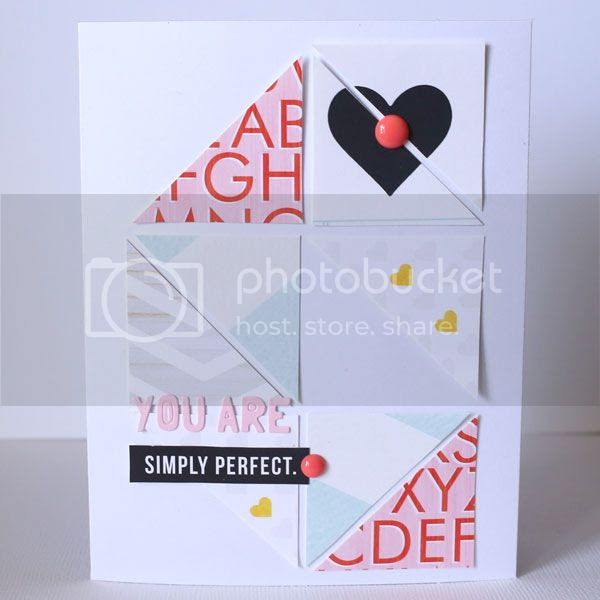 You Are SImply Perfect card]
