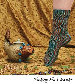 Talking Fish Sock