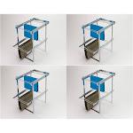 Rev-A-Shelf RAS-FD Series 2 Tier Standard Height Base Cabinet Organizer (4 Pack) by VM Express