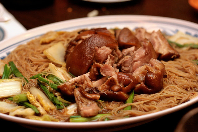 Smoked Pork Knuckle Mee Sua