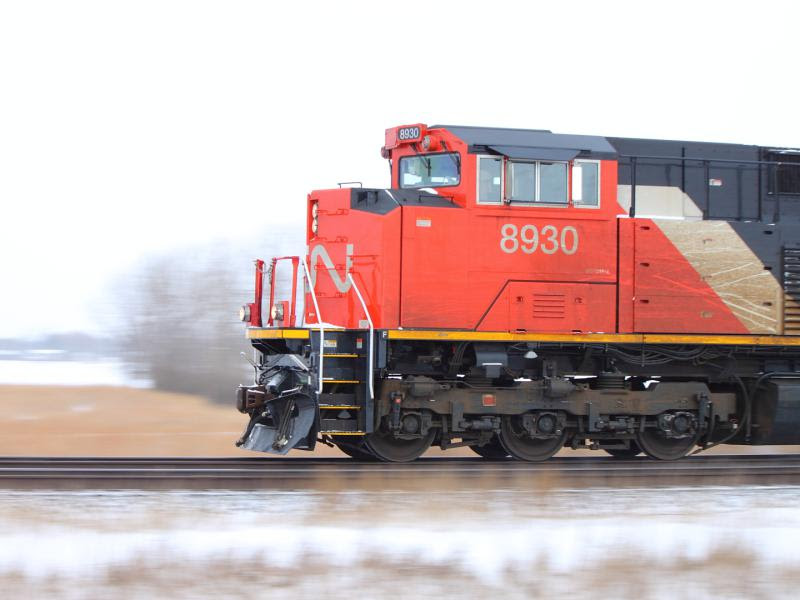 CN 8930 in Winnipeg