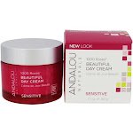 Andalou Naturals 1000 Roses Beautiful Day Cream for Face 1.7 oz.