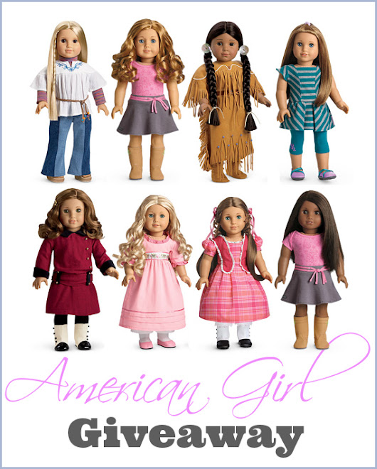 American Girl Doll Giveaway!! - One House Schoolroom