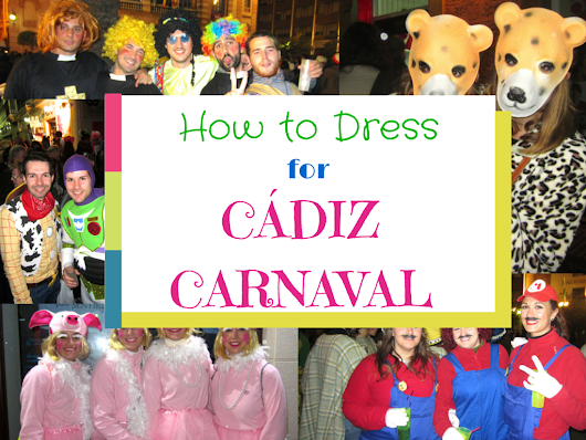 How to Dress for Cádiz Carnaval