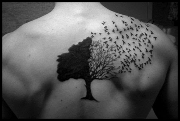 Free Black Tree Tattoo Download Free Clip Art Free Clip Art On