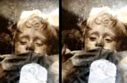 Μούμια που ανοιγοκλείνει τα μάτια σοκάρει τους αρχαιολόγους! (ΦΩΤΟ)