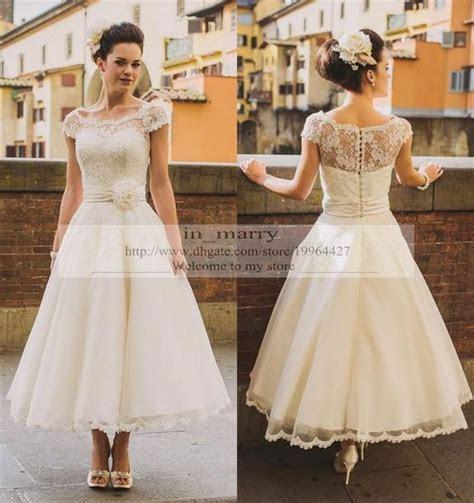 Dress: tea length wedding dresses, short wedding dress