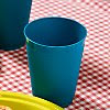 Recycled and Reusable Cups (Blue)