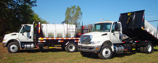 Ampliroll Product Spotlight: Virginia County Takes Delivery of Two New Hook Loader-based Water Trucks