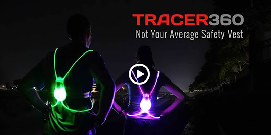 NoxGear Tracer360 - Visibility LED Safety Sports Vest Gear!