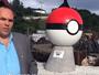 Cidade norueguesa faz estátua de pokébola para reivindicar pokéstops