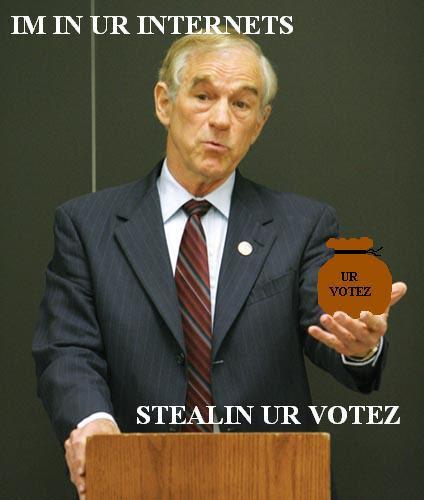 vote stealing lolpaul