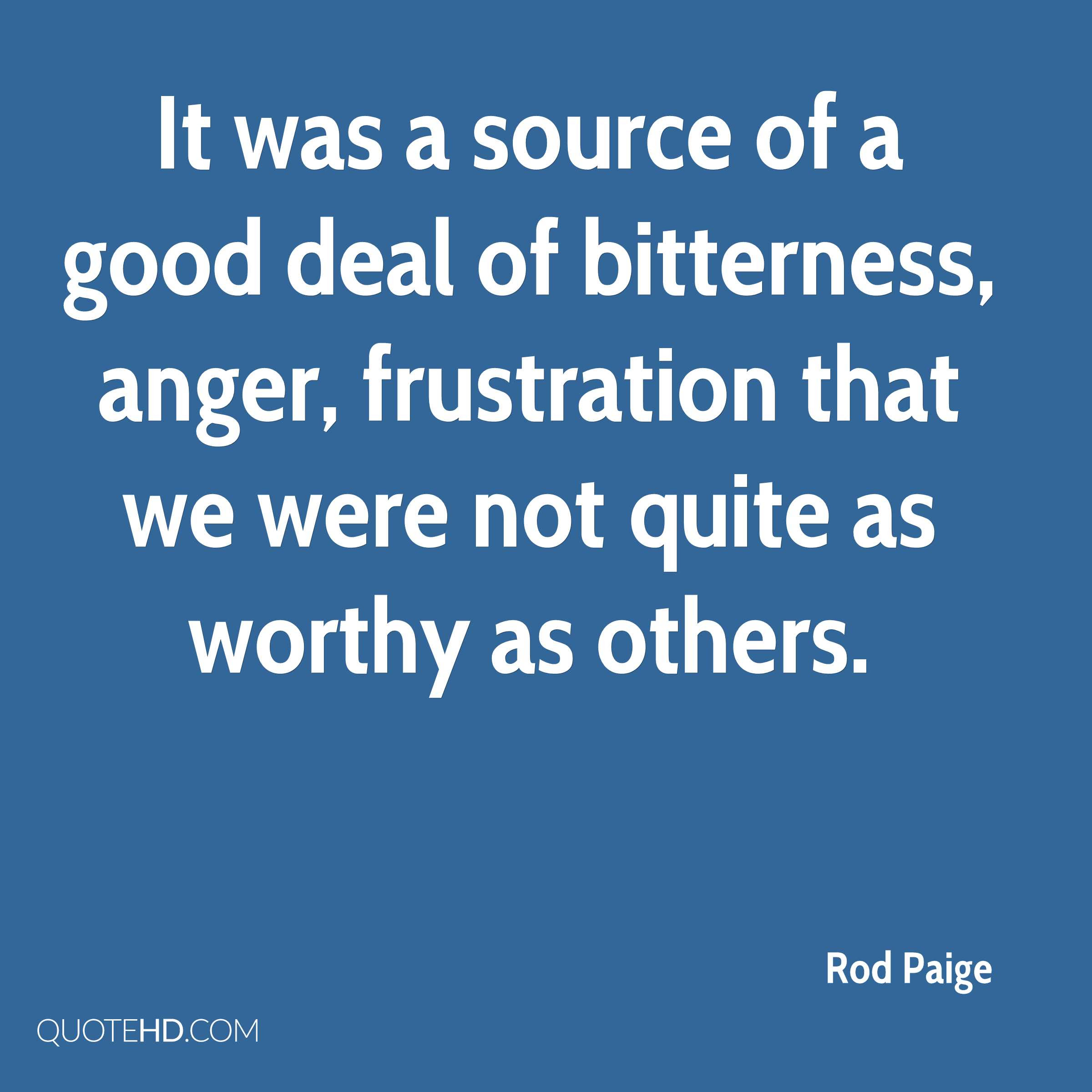 Rod Paige Quotes Quotehd