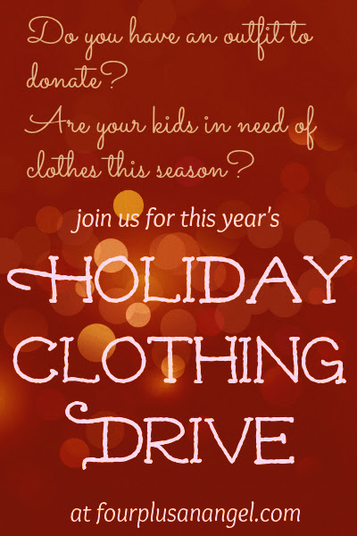 Holiday Clothing Drive 2014