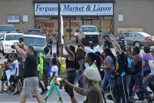 A Movement Grows in Ferguson
