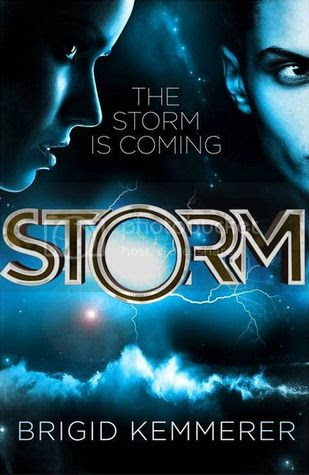 Storm by Brigid Kemmerer UK cover