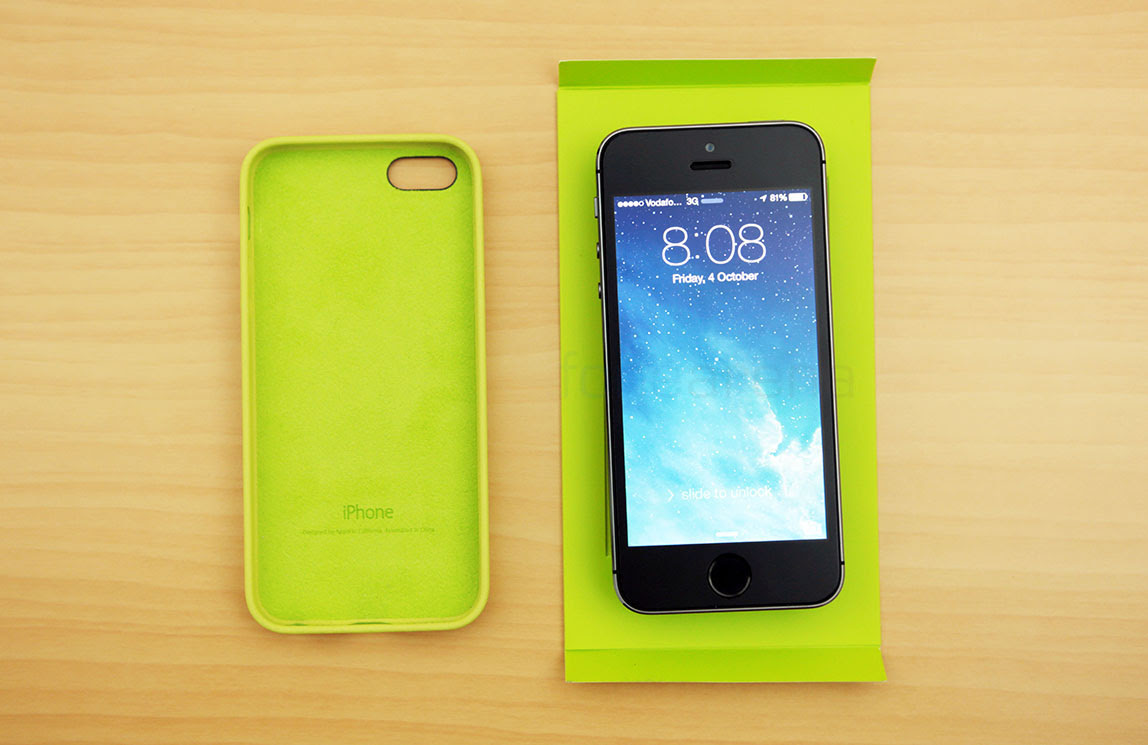 Apple iPhone 5s Leather Case Unboxing and Demo | Best ...
