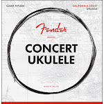 Fender California Coast Concert Ukulele Strings