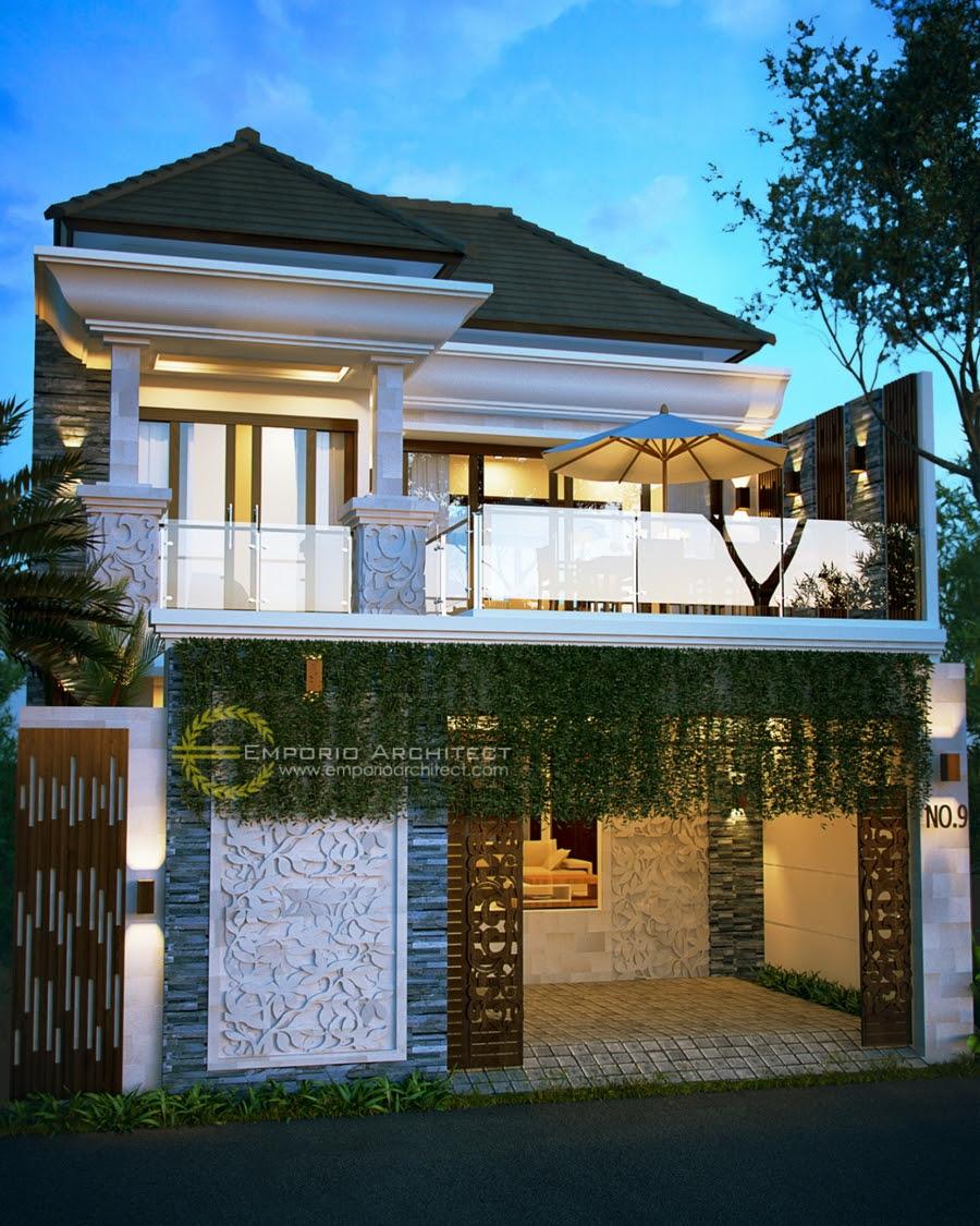 Desain Rumah Style Villa Bali Tropis yang Mewah dan Unik ...