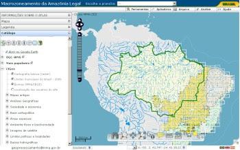 Atlas Interativo Amaz%C3%B4nia i3Geo Atlas interactivo de la Amazonia se encuentra disponible para consulta