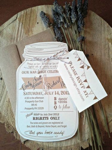 9 Affordable Wedding Invitations from Etsy   Weddings