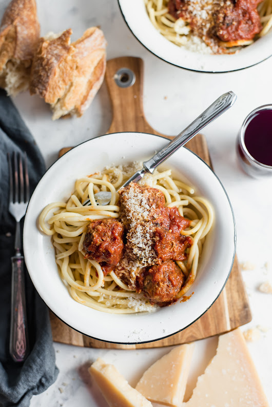 Classic Italian Meatballs and Best Tomato Sauce - GastroSenses